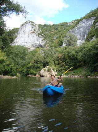 Kayaking at Saint Antonin Noble Val