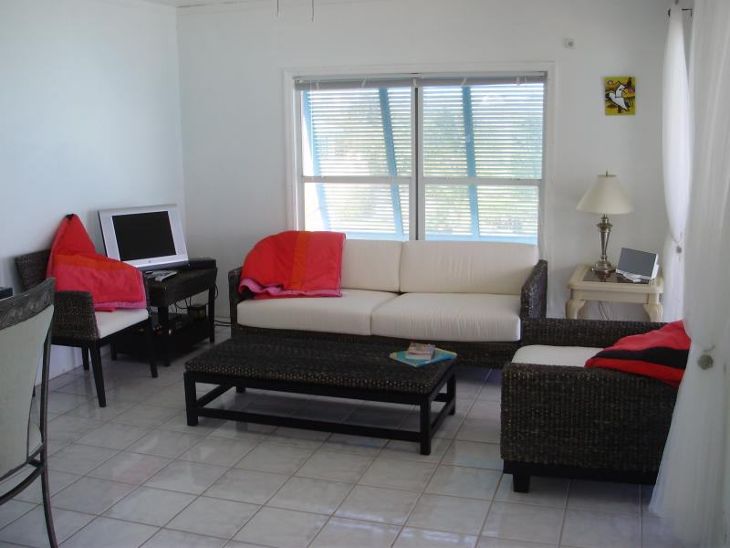 The modern apartments are furnished to the highest quality