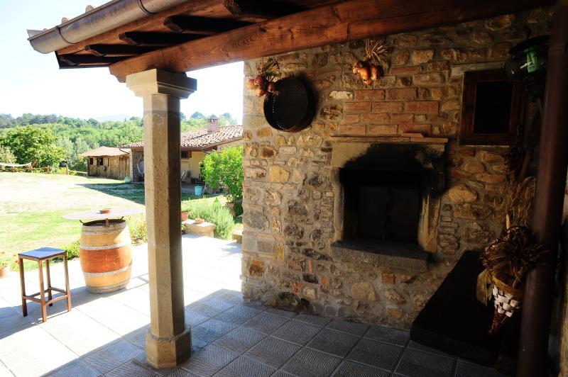 il grande forno per pizze e arrosti_ our wood oven