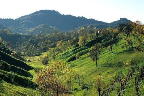 hills around Asolo
