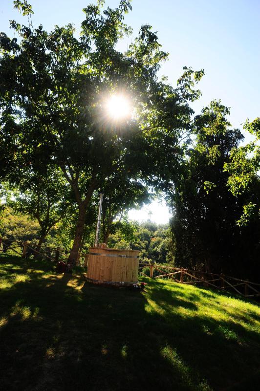 la botte con acqua calda riscaldata a legna per il tuo benessere naturale bagni caldi e romantici so