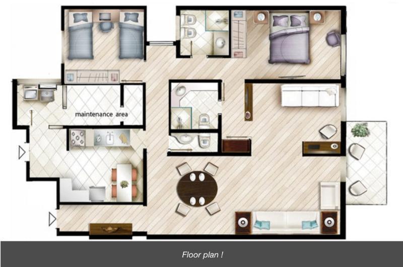 Floor plan !