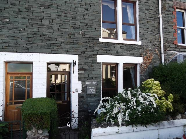 Bessy Boot - a large terraced house just a short walk from Keswick town centre.