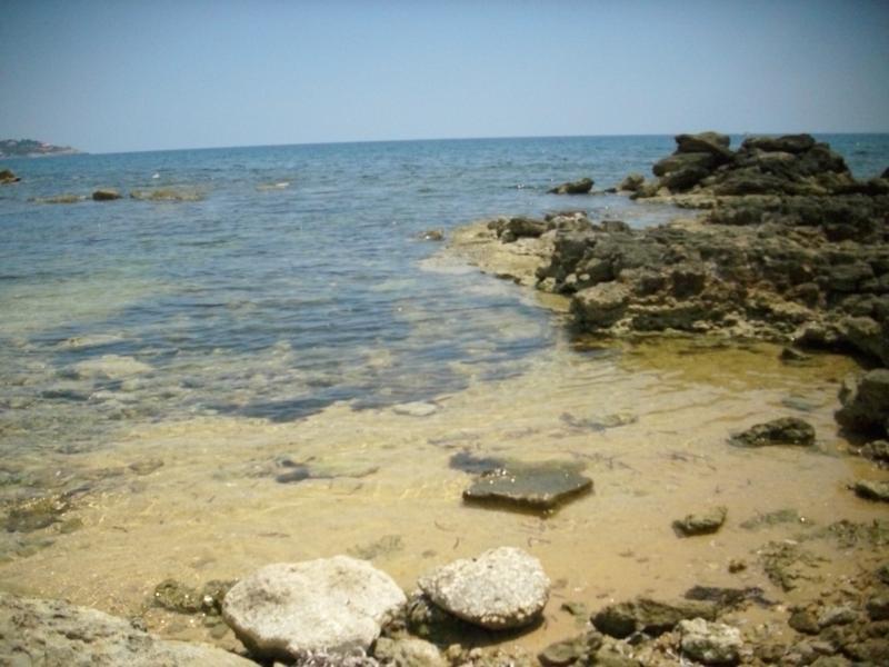 il mare della riserva marina protetta del Plemmirio