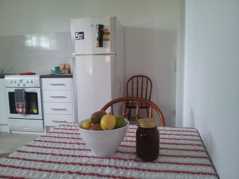 FIGS 1 Homegrown fruit and homemade chutney - seasonal welcome