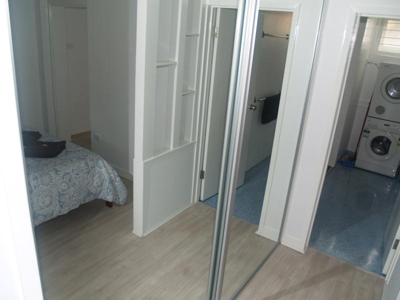 FIGS 1 bedroom, wardrobe and laundry