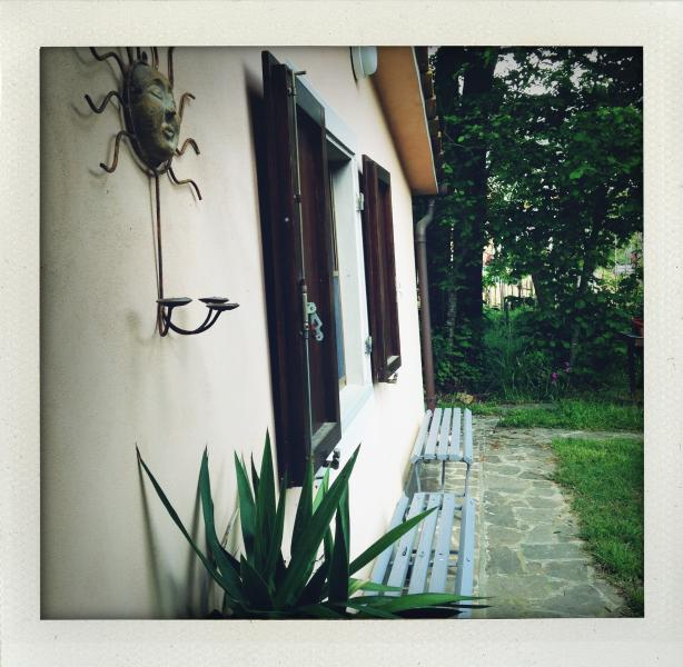 Veduta laterale di Casa La Ghianda