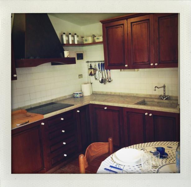 La cucina di Casa La Ghianda