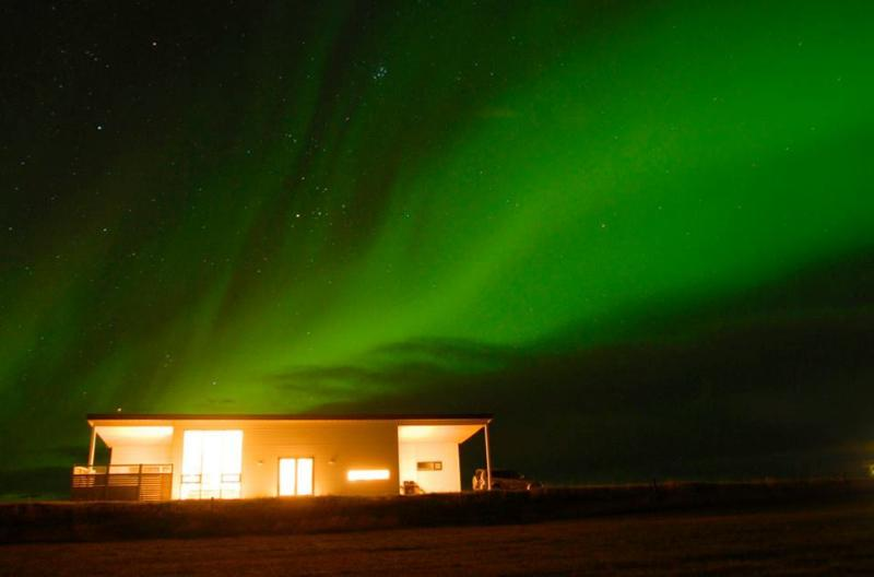 Northern lights season is from mid-september until end of march.