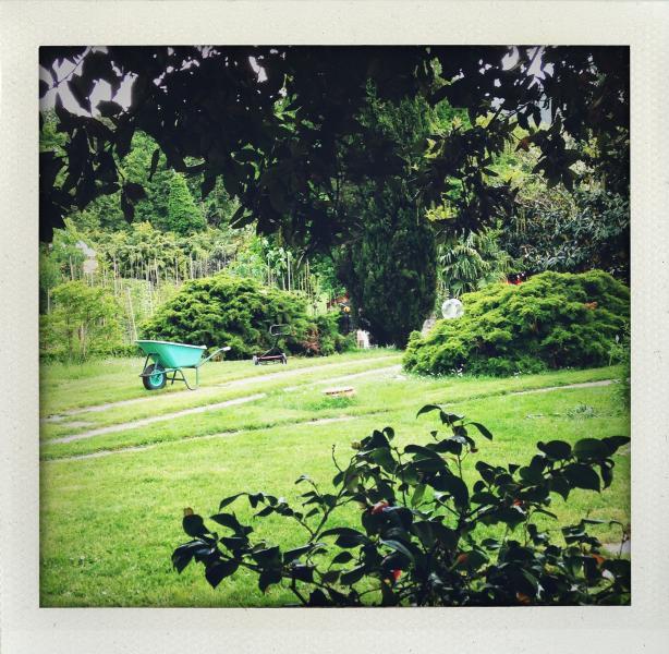 Il giardino di Casa La Ghianda