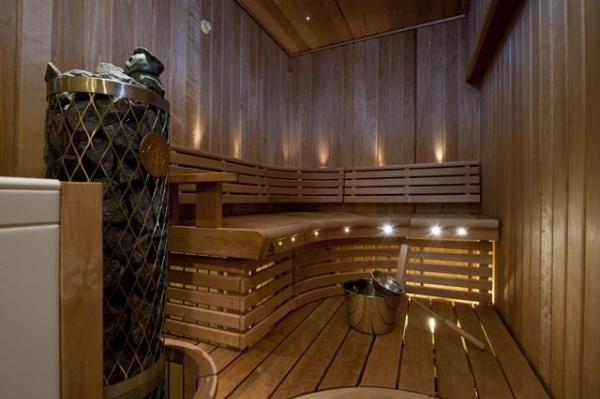Spectacular Sauna