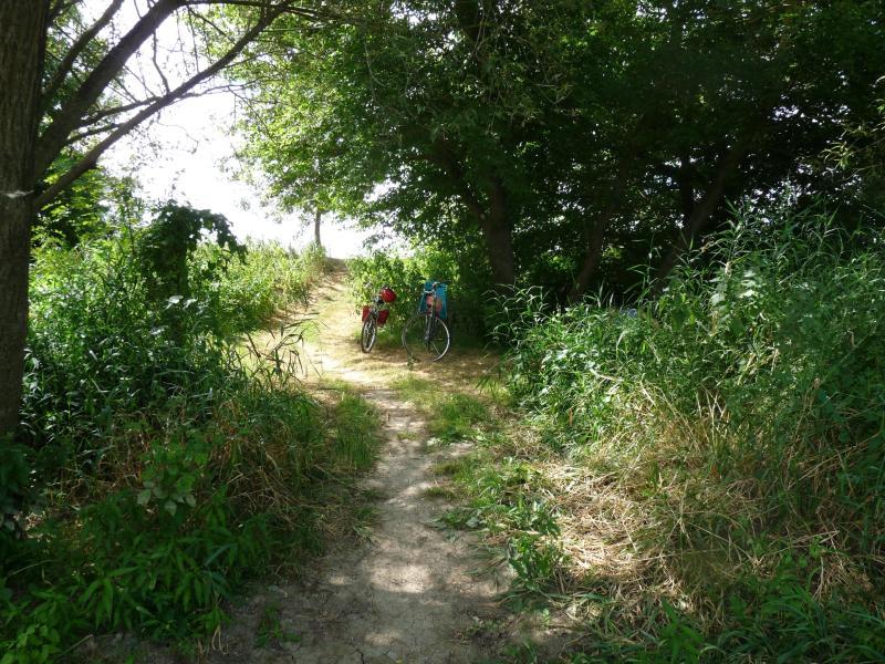 Flânerie à vélo sur les rives de Vienne...