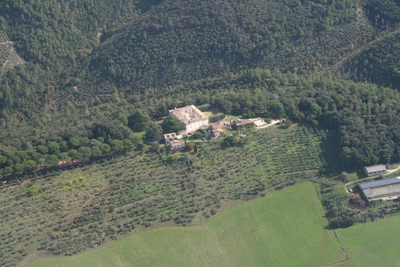 View of the private Borgo