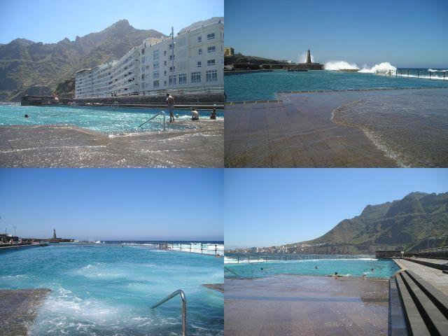 Fachada Apartamentos y piscinas naturales Bajamar
