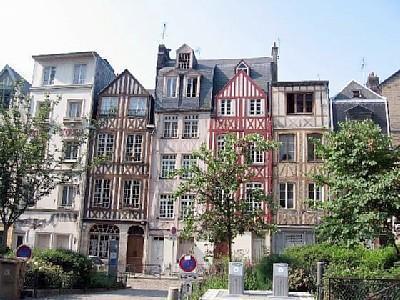 Medieval city of Rouen