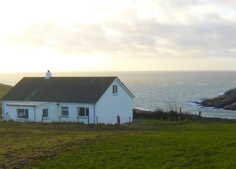 Rear of House with the view to Ireland!