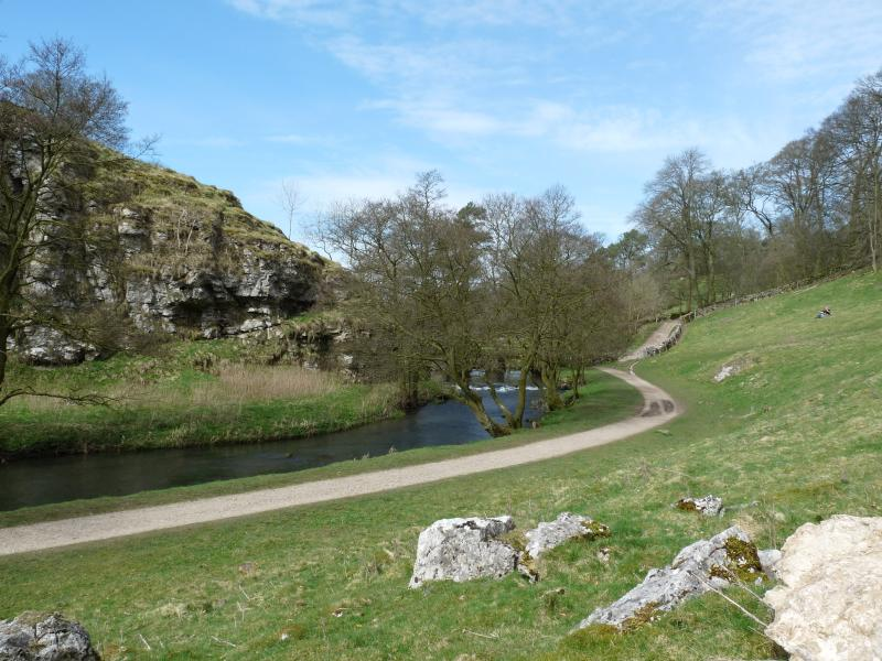 Walk from Hartington to Dovedale passing through Milldale and Berresfordale.