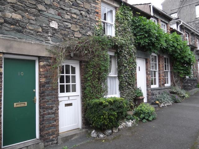 Down a quiet cul de sac, Jasmine Cottage has jasmine growing around the door