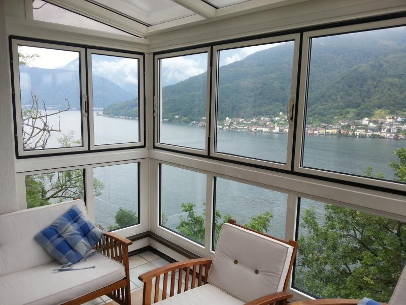 Lake View Apartment - Morcote, Lugano, vacation rental in Canton of Ticino
