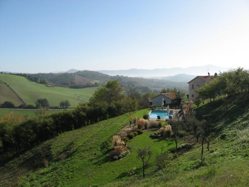 Nestled in the green hills of Umbria