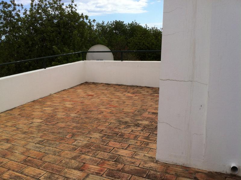 1 st floor terrace
