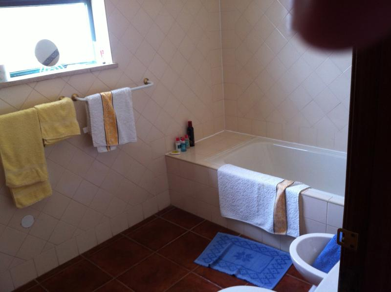 Bathroom (one at ground level and one at 1st floor
