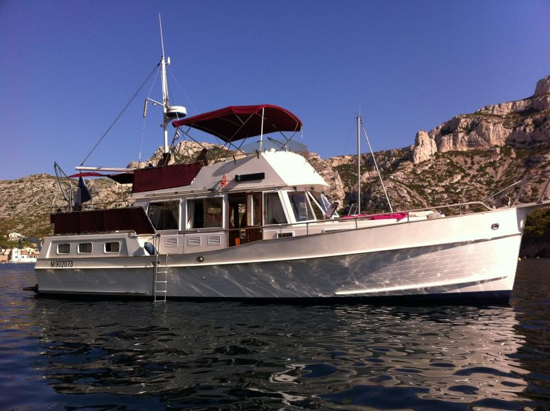 Vue tribord