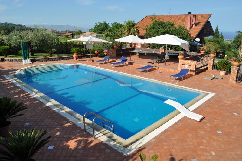 villa del sole, holiday rental in Zafferana Etnea