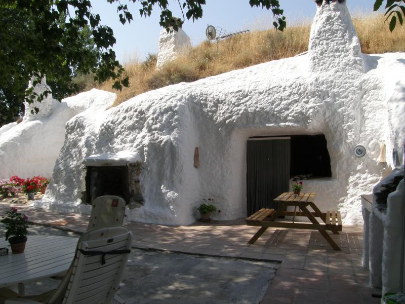 Grotte de façade
