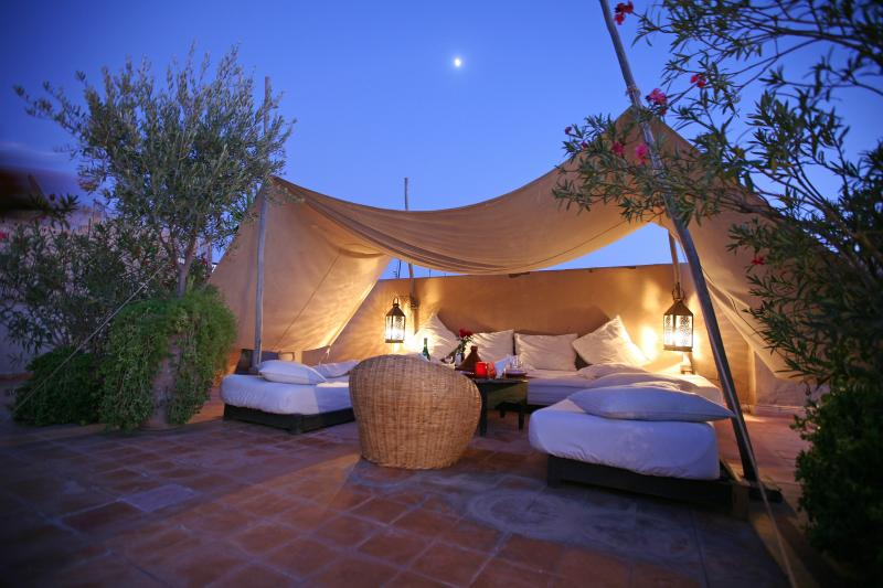 Rooftop Terrace at Riad O2