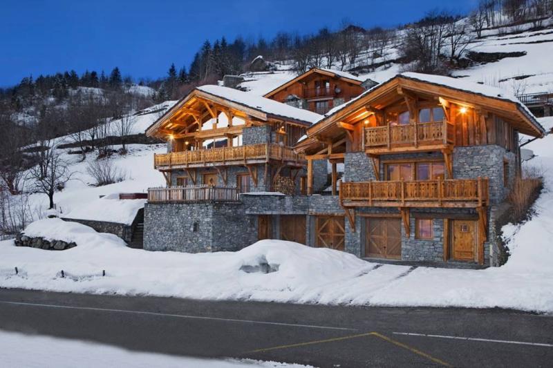 Les Chalets Jumeaux: Le Grand, vacation rental in Montvalezan