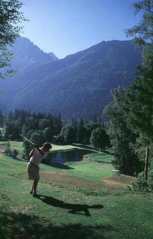 Campo de golfe Chamonix