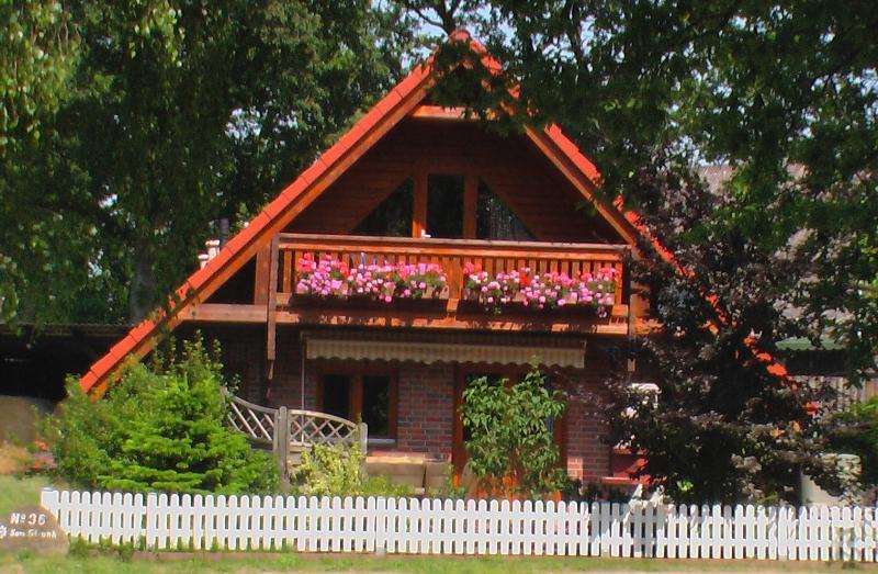 la casa en verano