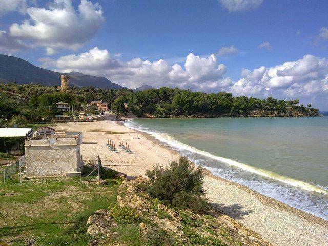 Guidaloca - beach of Scopello