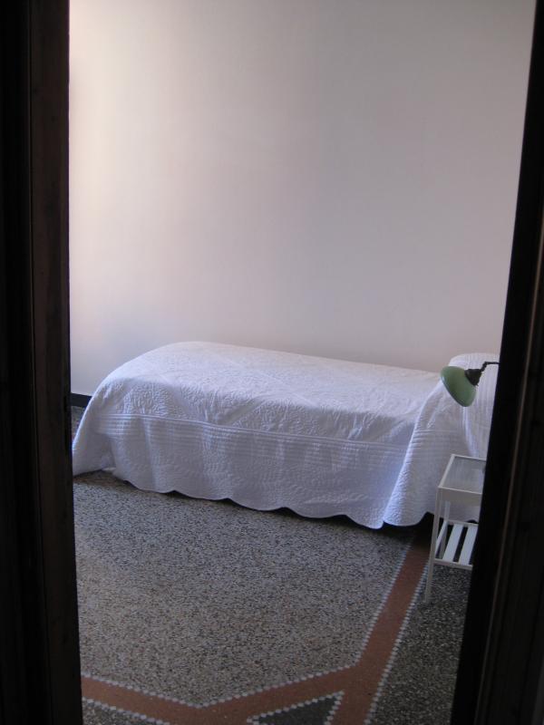 una delle due camere singole