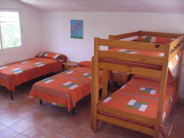 Dormitorio para las familias con niños o los no tan niños que quieran compartirla