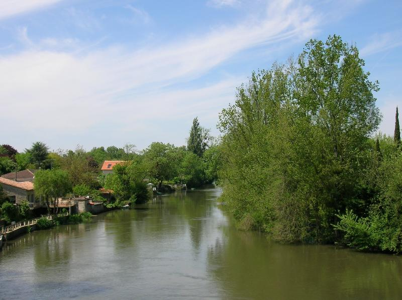 The river Charente