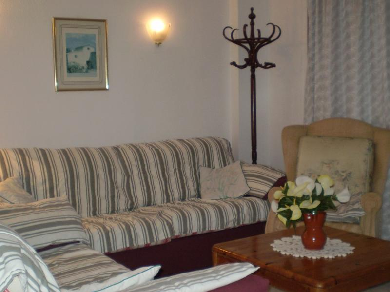 Lounge, 2 sofas and one armchair
