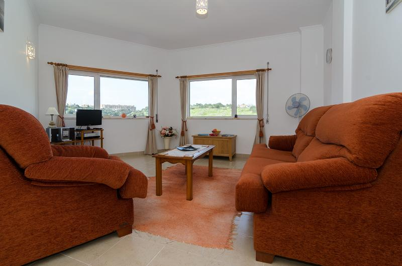 Light + airy comfortable lounge with lovely views