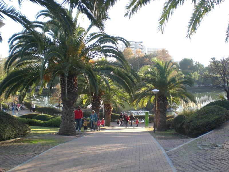 Park beside Jupiter apartments