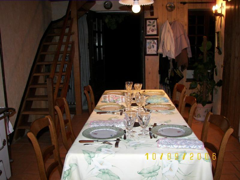 tabla d ' hôtes