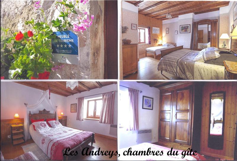 Andreys, gite 'Le Joli' rooms