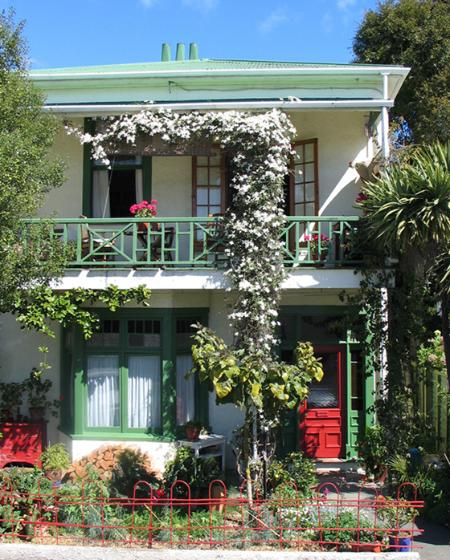 Our house is 106 years old , the self contained apt. is on the ground floor leading into the garden