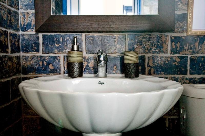 Bathroom no 1 (upper level). Every detail looked at to make you feel comfortable.