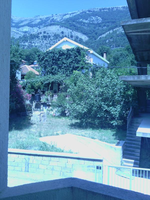 Mountain view from private balcony