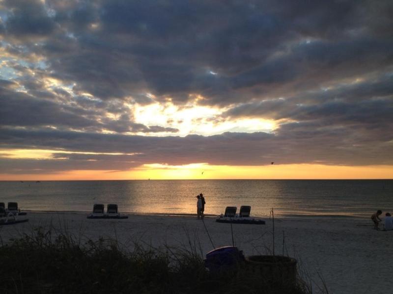 World Famous Sunsets on Powder White Beach