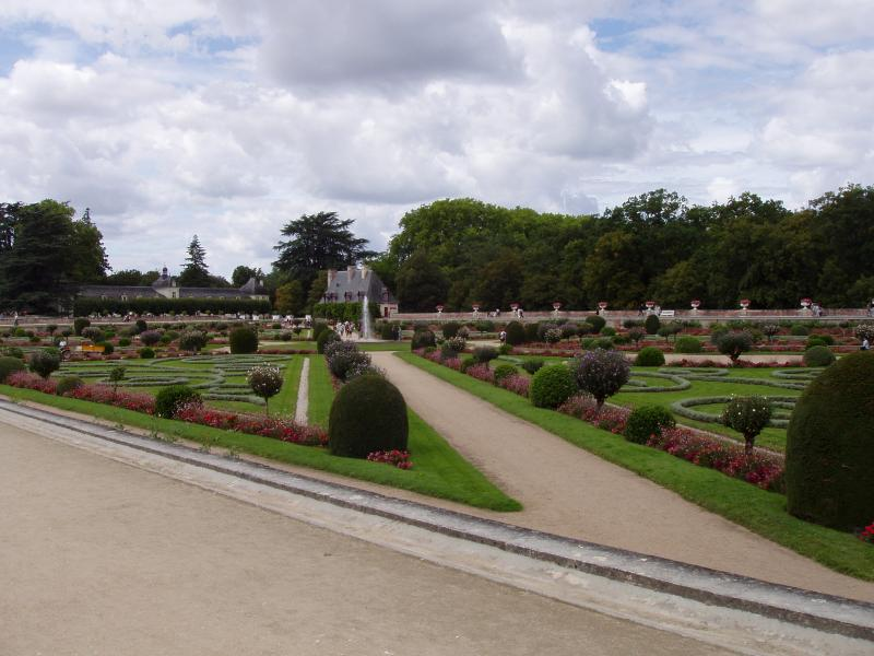 Chateau Chenonceau - some of the Gardens