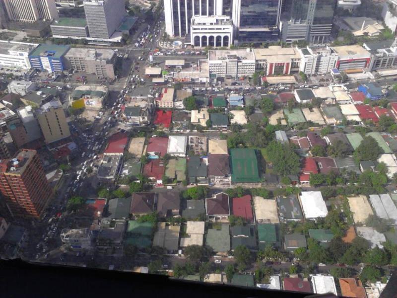 Vista desde el piso 36