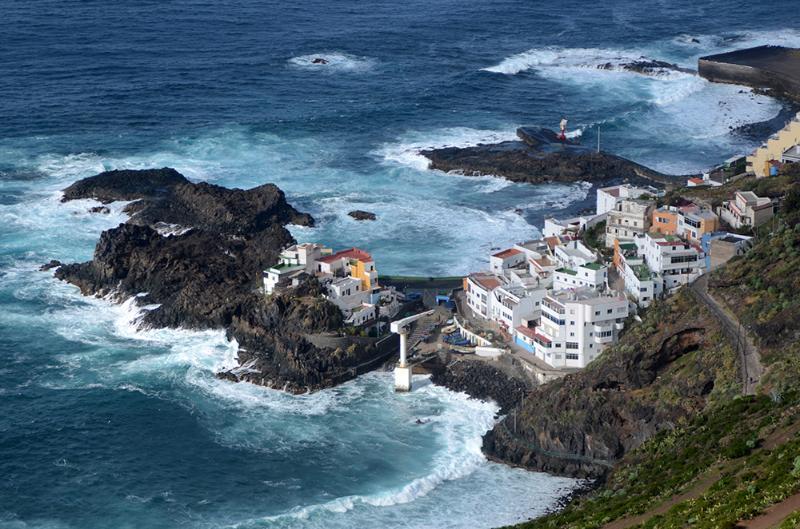 vista diurna del pueblo pesquero denominado El Prix, donde se puede degustar un buen pescado fresco.