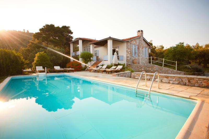 Villa Elia Skopelos, holiday rental in Stafylos